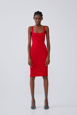 Zara Pencil dress with straps