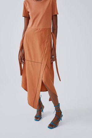 Zara Midi dress with seam detail