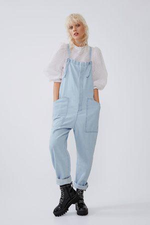 Zara Denim jumpsuit