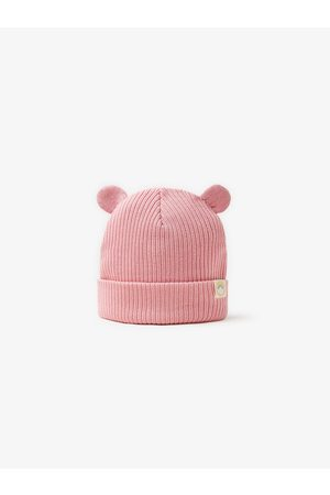 Zara Ribbed hat with ears