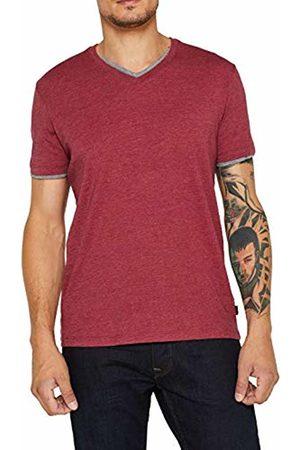 Esprit Men's 089ee2k040 T-Shirt, (Bordeaux 600)