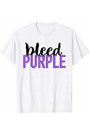 Purple Purple Purple I Bleed Purple School Pride Shirt