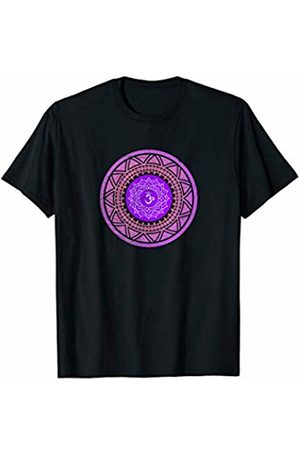 Sacred Geometry Yoga Mandala Psychedelic Occult Sahasrara Crown Chakra Sacred Yoga Mandala Meditation Goa T-Shirt