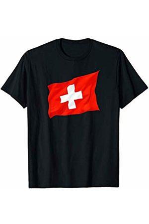 Buy Cool Shirts Women T-shirts - Waving Switzerland Flag T-Shirt