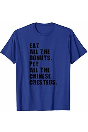 Swesly Dog Eat All The Donuts Pet All The Chinese Cresteds ADB030h T-Shirt