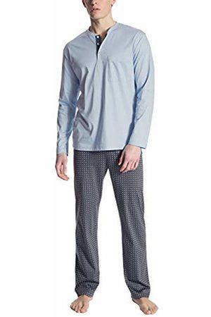 Calida Men's Relax Selected Pyjama Set, (Placid 502)