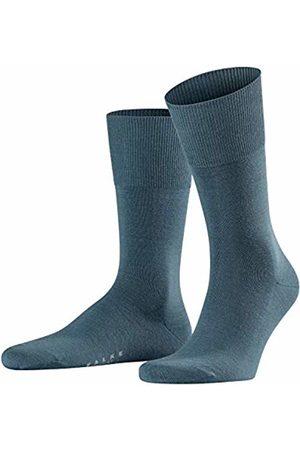 Falke Men's Airport Calf Socks, (Steel 3583)