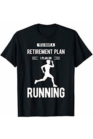 Tanim Mens Funny Running Shirt For Men With Saying Marathon Runners T-Shirt