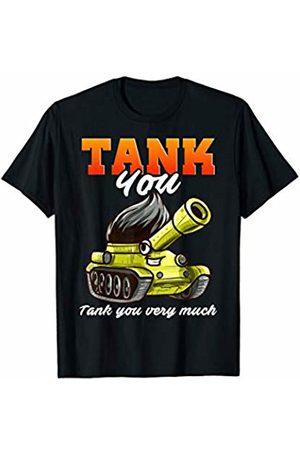 Tank You Shop History Teacher Military Sherman Kawaii Tank You Pun T-Shirt