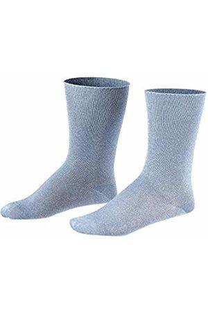 Falke Girl's Shiny Calf Socks, (Smoke 6085)