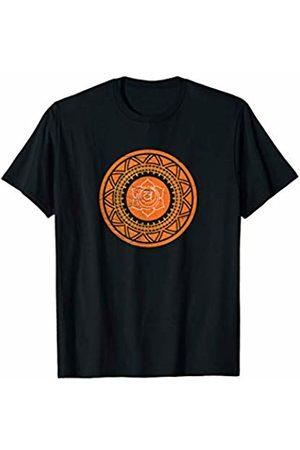 Sacred Geometry Yoga Mandala Psychedelic Occult Sacred Geometry Sacral Chakra Svadhishthana Mantra DMT Yoga T-Shirt