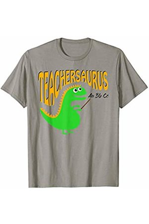 Hadley Designs Teachersaurus Back To School Teacher Appreciation T Rex T-Shirt