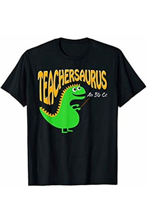 Hadley Designs Teachersaurus T Rex Dinosaur Back To School First Day Women T-Shirt