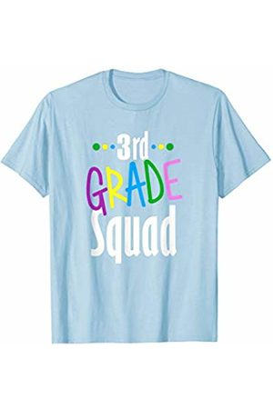 Back To School Apparel by BUBL TEES 3rd Third Grade Squad Back To School T-Shirt
