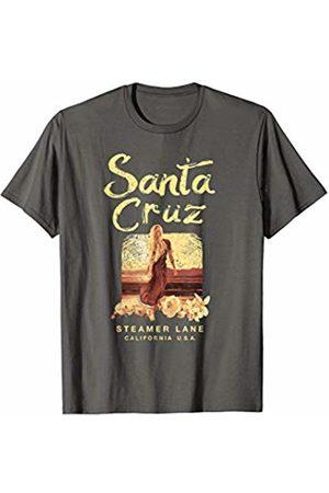 Santa Cruz California Surfing Santa Cruz California Steamer Lane Vintage Surfing Graphic T-Shirt