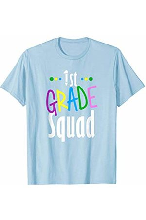 Back To School Apparel by BUBL TEES 1st First Grade Squad Back To School T-Shirt