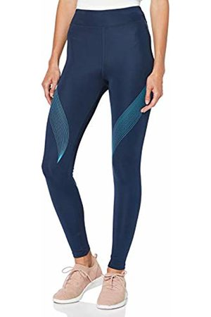 AURIQUE BAL181LA18 Gym Leggings Women, (Dress /Barrier Reef)