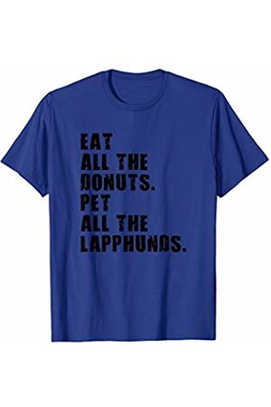 Swesly Dog Eat All The Donuts Pet All The Lapphunds ADB047h T-Shirt