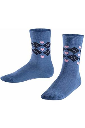 Falke Girl's Hearts Argyle Calf Socks, 6067)