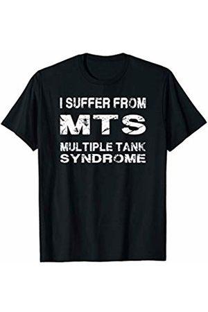 Aquarium Fish Lover Funny Gift T Shirts Multiple Tank Syndrome Funny tshirt gift Aquarium Lovers T-Shirt