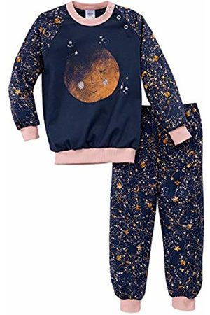 Calida Girl's Toddlers Stars Pyjama Set, (Peacoat 488)