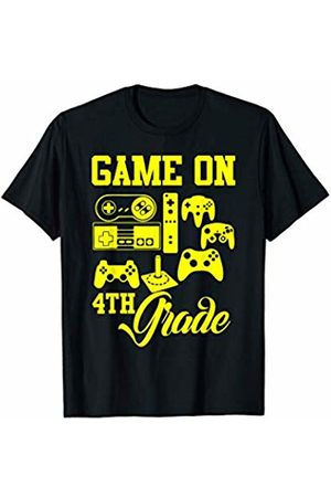 Hadley Designs Video Game On Fourth Grade Back to School for Students Gamer T-Shirt