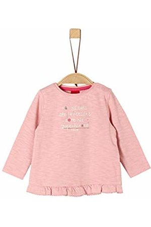 s.Oliver Baby Girls' 65.908.31.8651 Long Sleeve Top, (Dusty 4257)