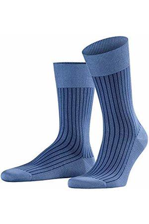 Falke Men's Oxford Stripe Business Socks, (Dusty 6845)