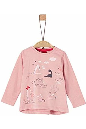 s.Oliver Baby Girls' 65.908.31.8814 Long Sleeve Top, Dusty 4257