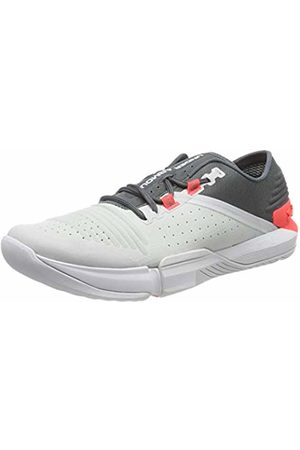 Under Armour Men Shoes - Men's TriBase Reign Fitness Shoes, (Pitch Halo Gray/Beta 107)