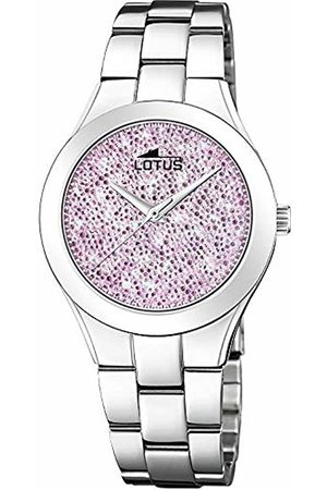 Lotus Womens Analogue Quartz Watch with Stainless Steel Strap 18656/2