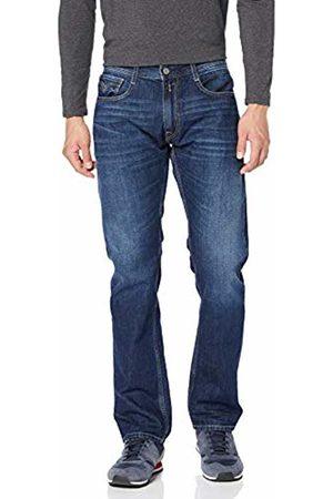Replay Men's M1005 .000.174 566 Straight Jeans, (Dark 7)