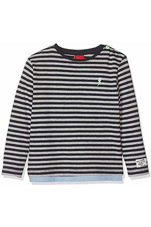 s.Oliver Baby Boys' 65.908.31.8688 Long Sleeve Top, Dark Knittedstripes 59g0