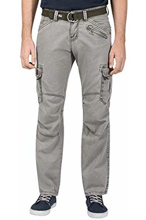 Timezone Men's BenitoTZ Cargo Pants incl. Belt Trousers