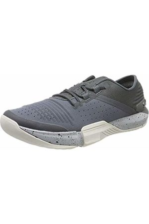 Under Armour Men's TriBase Reign Fitness Shoes, (Pitch Mod Gray/Metallic Steel 108)