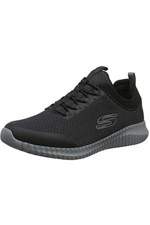 Skechers Men's Elite Flex - BELBURN Trainers, Mesh/Charcoal Trim Bkcc