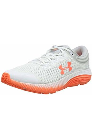 Under Armour Women's Charged Bandit 5 Running Shoes, /Halo Gray/Peach Plasma 101