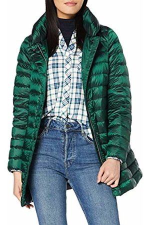 Geox Women's W Jaysen Coat Coat, (Dk Pinegroove F3212)