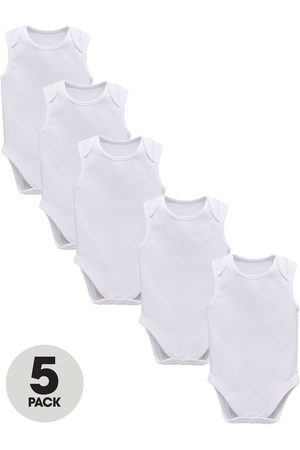 Very Baby Unisex 5 Pack Sleeveless Bodysuits