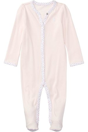 Ralph Lauren Baby Girls Classic All-In-One