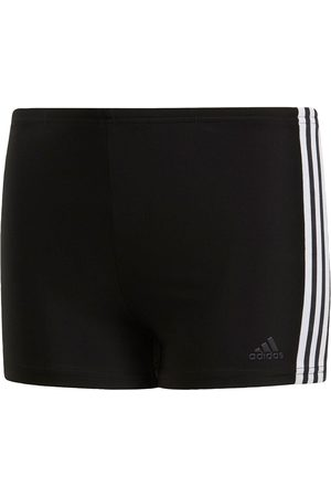 adidas Boys Underwear - Swim Fit Boxer 3 Stripe Youth - /