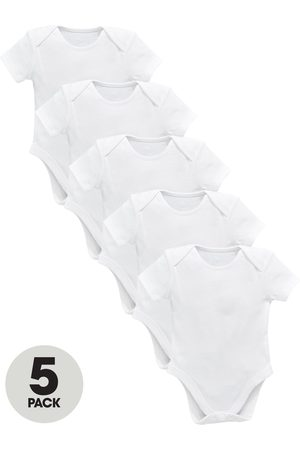 Very Baby Unisex 5 Pack Short Sleeve Bodysuits