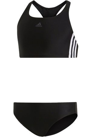 adidas Swim Fit 2Pc 3Stripe Youth