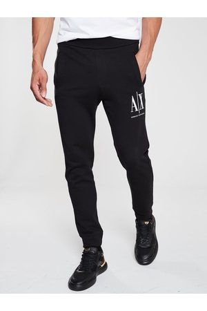 Armani Embroidered Logo Jogging Bottoms