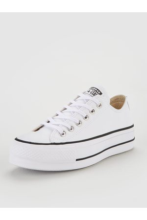 Converse Women Trainers - Chuck Taylor All Star Lift Clean Leather Ox