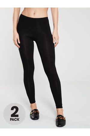 Very The Essential Tall 2 Pack Basic Leggings
