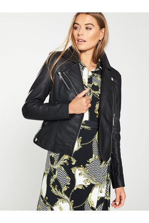 Very Faux Leather Pu Jacket