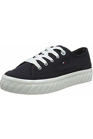 Tommy Hilfiger Women's Outsole Detail Flatform Sneaker Low-Top