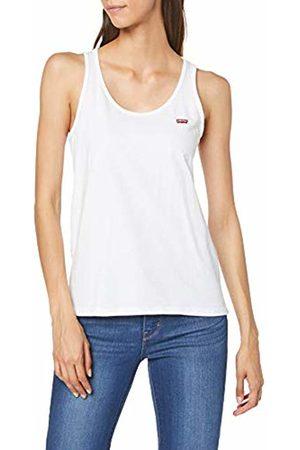 Levi's Women's Bobbi Tank Plain Regular Fit Sleeveless Sport Tank Top, ( + 0000)