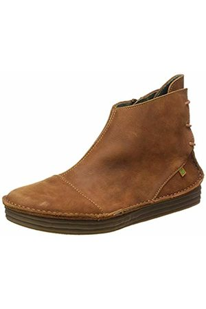 El Naturalista Women's Nf82 Pleasant Wood/Rice Field Ankle Boots